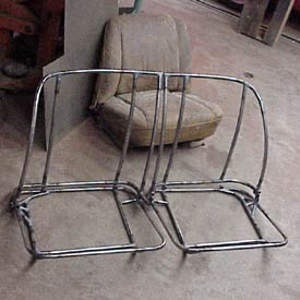 New construction for seat frames